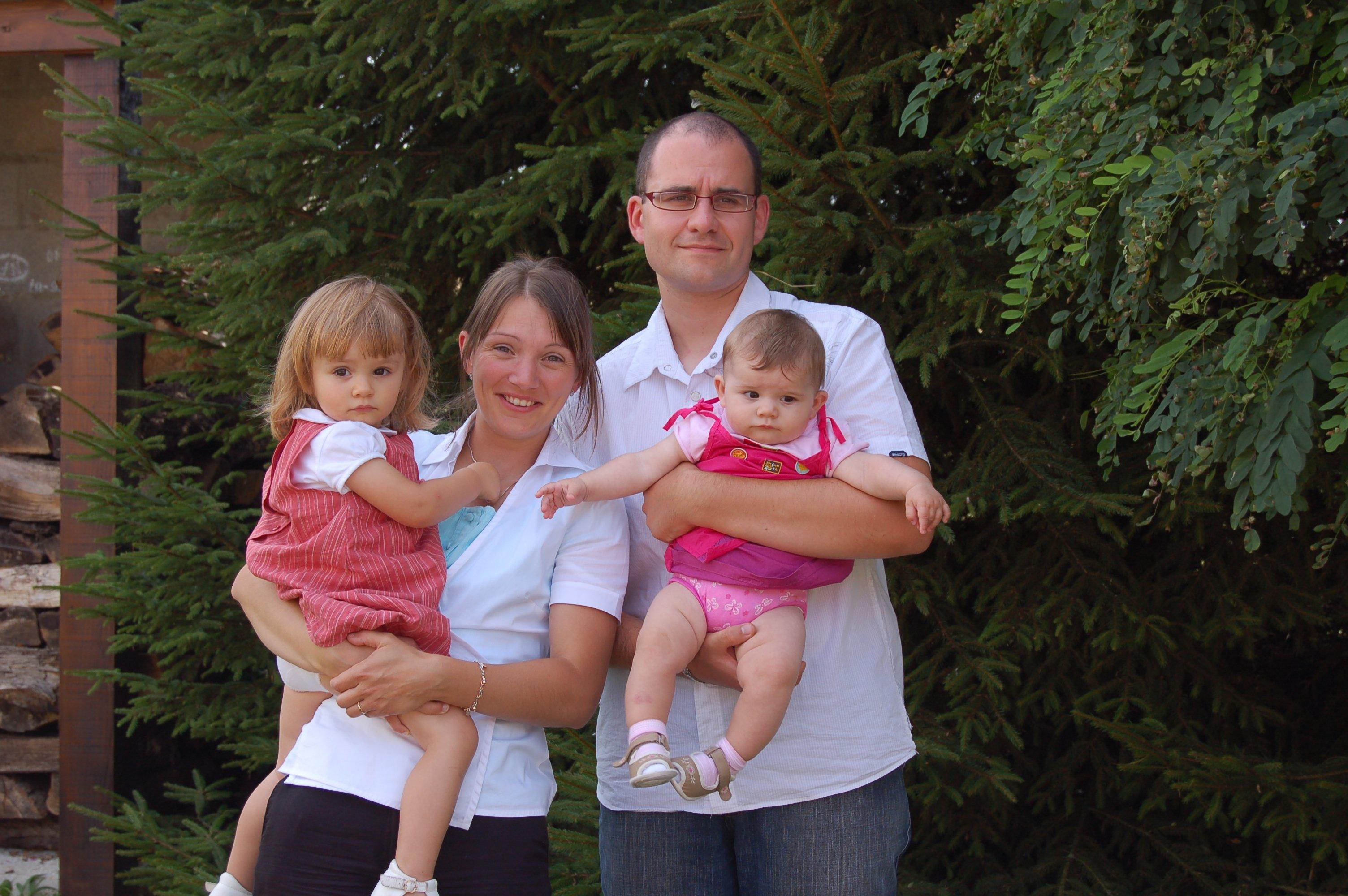 La famille au grand complet
